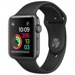 Часы Apple Watch Series 1 38mm with Black Sport Band