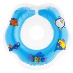 Круг на шею Roxy Kids Flipper для купания малышей 0+ Голубой