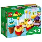 LEGO: Мой первый праздник DUPLO 10862