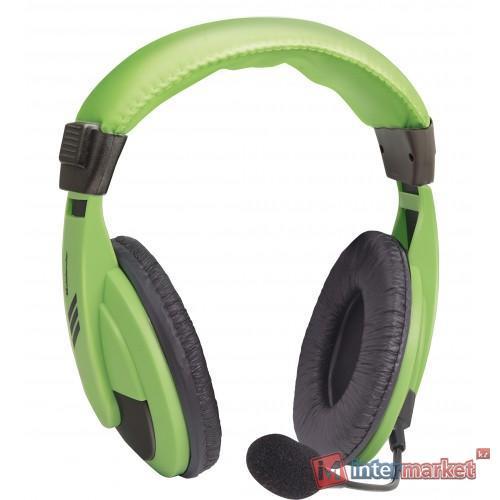 Наушники с микрофоном Defender Gryphon HN-750 Green
