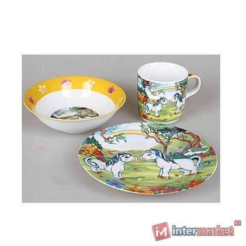 Набор детской посуды Rosenberg 8755 (3 пр.)