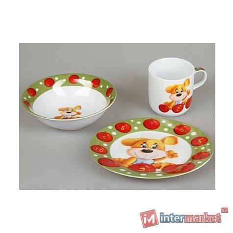 Набор детской посуды Rosenberg 8769 (3 пр.)