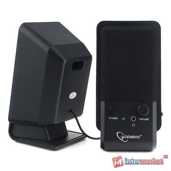 SPK active Gembird SPK-510 (2.0), RMS 3Wx2, USB power, Black