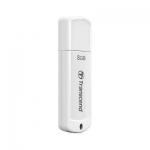 USB Флеш 8GB 2.0 Transcend TS8GJF370 белый